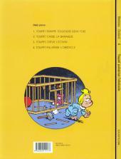 Verso de Toupet -4- Toupet pulvérise l'obstacle