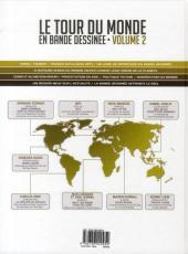 Verso de Le tour du monde en bande dessinée -2- Volume 2