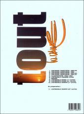 Verso de Tout Vance -10- L'intégrale Ramiro (1ère partie)