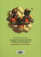 Verso de Toxic planet -1- Milieu Naturel