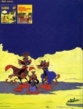 Verso de Les toyottes -1- La dalle maudite