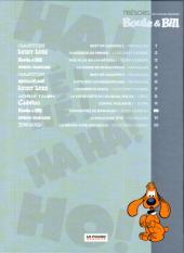 Verso de Les trésors de la bande dessinée -10- Boule et Bill - Concentré de bonheur