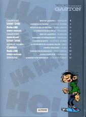 Verso de Les trésors de la bande dessinée -1- Best of Lagaffe 1