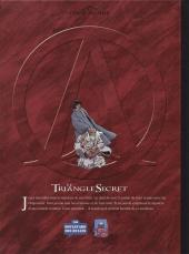 Verso de Le triangle secret -7TL- L'imposteur