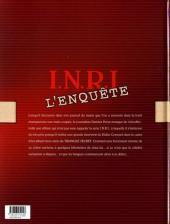 Verso de Le triangle Secret - I.N.R.I -HS- L'Enquête