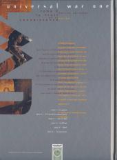 Verso de Universal War One -2COF- Le fruit de la connaissance