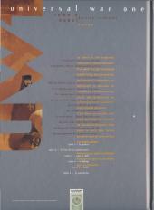 Verso de Universal War One -5COF- Babel