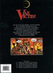 Verso de Vae Victis ! -5- Didius, le retour de l'infâme