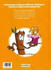 Verso de Les vélo Maniacs -HS1- Best Of 10 ans Bamboo
