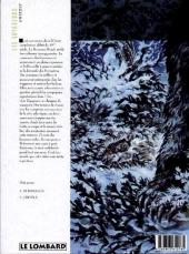 Verso de Les voyageurs -2- Grizzly
