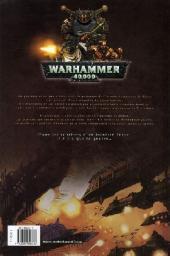 Verso de Warhammer 40,000 (1re série - 2008) -2- La Bataille de Carrion Gulf