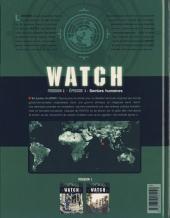 Verso de Watch -1- Bombes Humaines