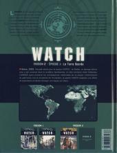 Verso de Watch -3- La Terre Sacrée
