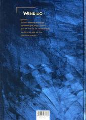 Verso de Wendigo -1- Celui qu'accompagnent les loups