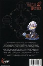 Verso de Witch Hunter -1- Tome 1