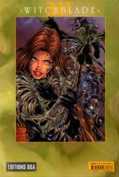 Verso de Witchblade (Éditions USA) -6- Witchblade tome 6
