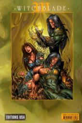 Verso de Witchblade (Éditions USA) -9- Witchblade (darkness 9, 10 et w. 19)