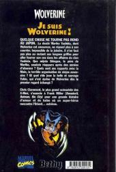 Verso de Wolverine (Comics Culture) -3- Je suis Wolverine !