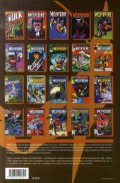 Verso de Wolverine (l'intégrale) -1- Wolverine : l'intégrale 1988-1989