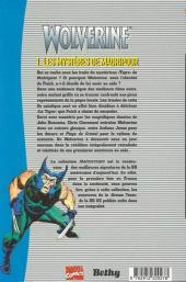 Verso de Wolverine (Mainstream) -1- Les mystères de Madripoor