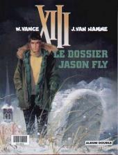 Verso de XIII (France Loisirs - Album Double) -3- Rouge total / Le dossier Jason Fly