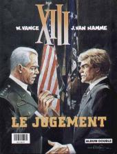 Verso de XIII (France Loisirs - Album Double) -6- Trois montres d'argent / Le jugement