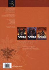 Verso de Yiu Premières missions -INT- Tomes 1-2-3