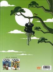 Verso de Zblu Cops -3- Samouraï et fines herbes