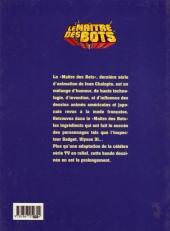 Verso de Ziv Zulander (Une aventure de) - Le Maître des Bots - Krang Island