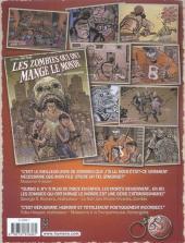 Verso de Les zombies qui ont mangé le monde -2- Les esclaves de l'amour