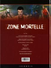 Verso de Zone mortelle -3- Thanatos