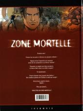 Verso de Zone mortelle -4- Hadès