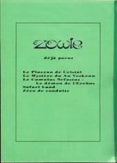 Verso de Zowie -Pir- Zowie résoudra-t-il le mystère du An Veskenn ?