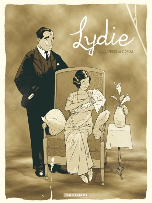 Couverture de Lydie