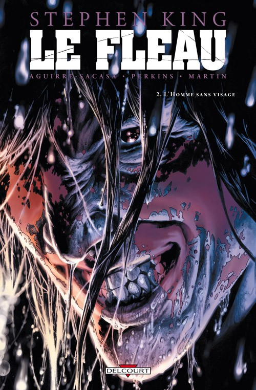 Couverture de Le fléau -2- L'Homme sans visage