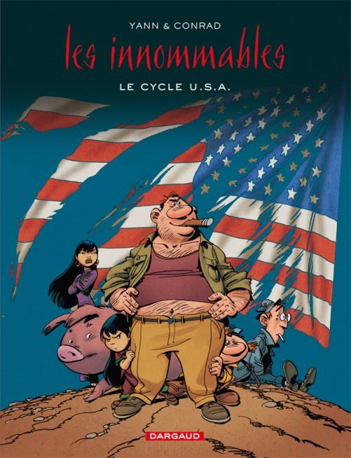 Couverture de Les innommables (Intégrales) -INT3- Le Cycle U.S.A.