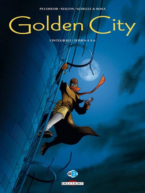 Couverture de Golden City -INT2- Intégrale - Tomes 4 à 6