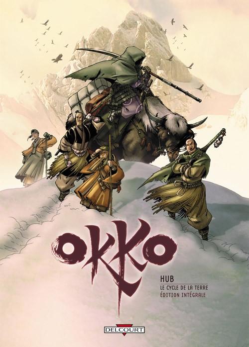 Couverture de Okko -INT2- Le Cycle de la terre - Édition intégrale
