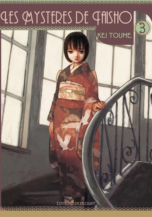Couverture de Les mystères de Taisho -3- Volume 3