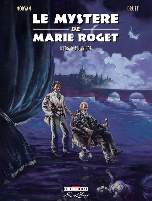 Couverture de Le mystère de Marie Roget - Le Mystère de Marie Roget, d'Edgar Allan Poe
