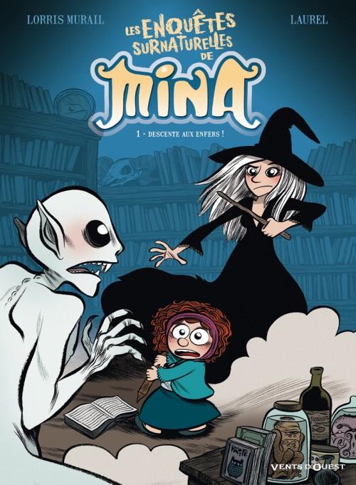 Couverture de Les enquêtes surnaturelles de Mina -1- Descente aux enfers !