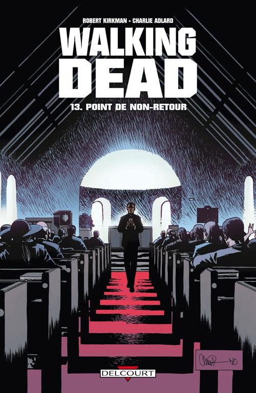 Couverture de Walking Dead -13- Point de non-retour