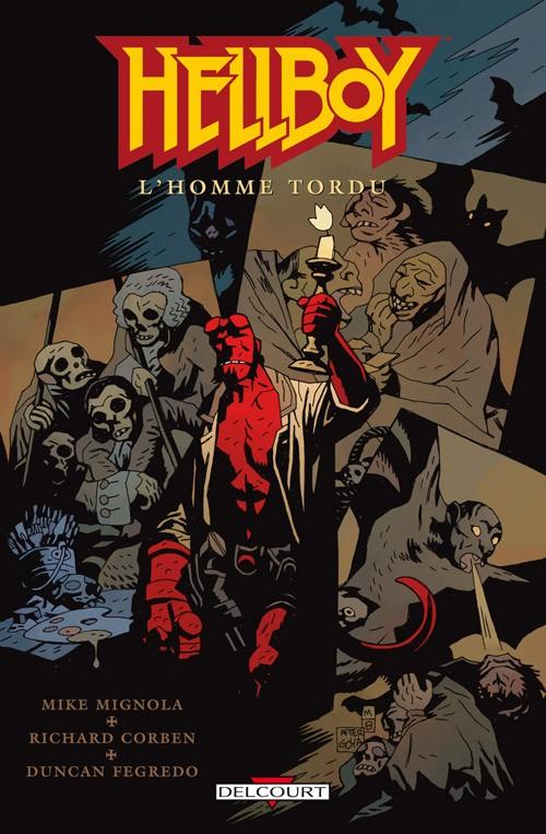 Couverture de Hellboy (Delcourt) -11- L'Homme tordu