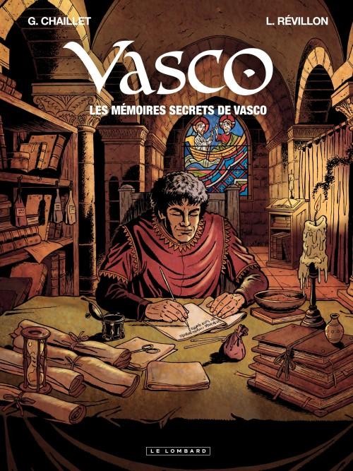 Couverture de Vasco -HS1- Les mémoires secrets de Vasco