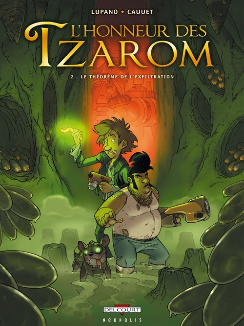 Couverture de L'honneur des Tzarom -2- Le Théorème de l'exfiltration