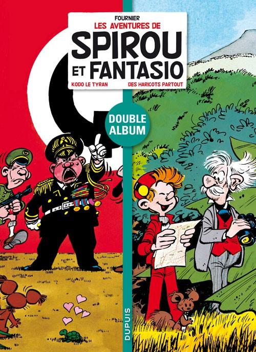 Couverture de Spirou et Fantasio - Diptyques -2- Kodo le tyran - Des haricots partout