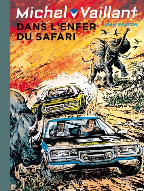 Couverture de Michel Vaillant (Dupuis) -27- Dans l'enfer du safari