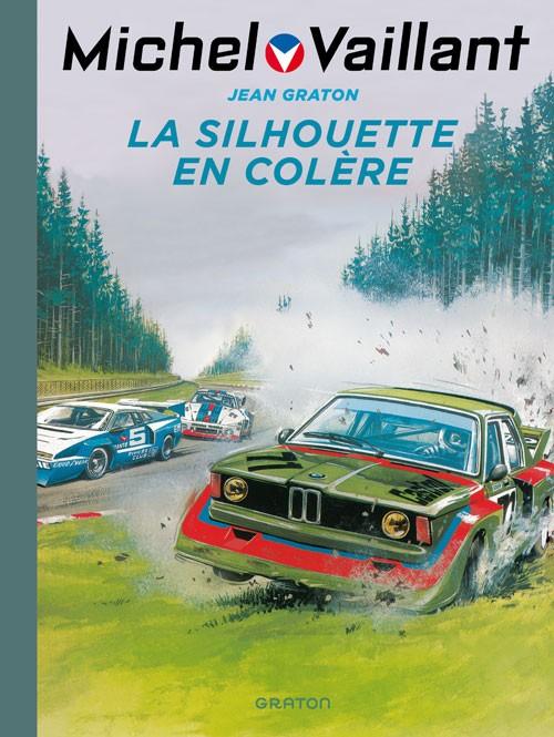 Couverture de Michel Vaillant (Dupuis) -33- La silhouette en colère