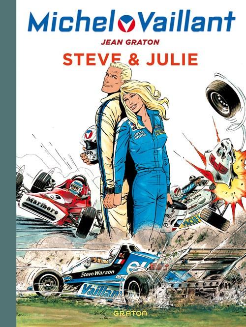 Couverture de Michel Vaillant (Dupuis) -44- Steve & Julie