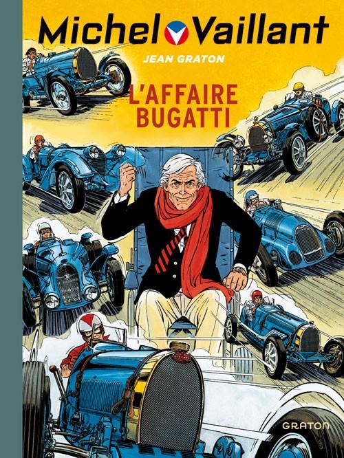Couverture de Michel Vaillant (Dupuis) -54- L'affaire Bugatti